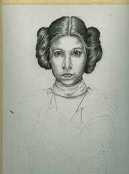 Leia WIP 3 by jeanfverreault
