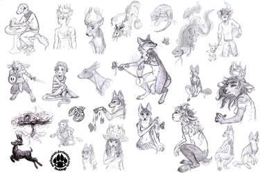 Sketch Compilation 2010-2011