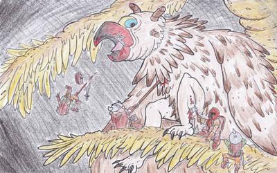 Eyi, Forgotten beast by kruggsmash