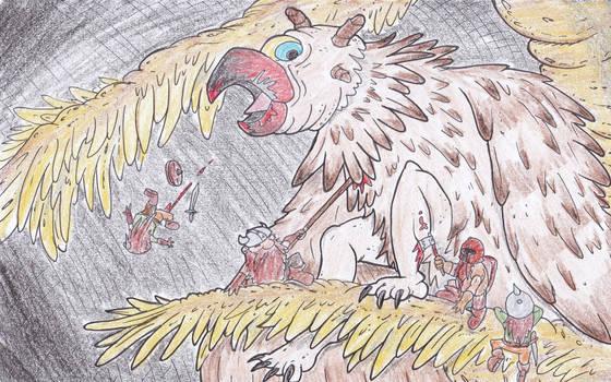 Eyi, Forgotten beast
