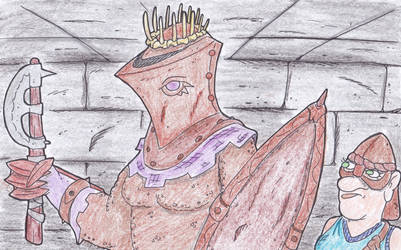 The Lady Consort/ Monster Slayer by kruggsmash