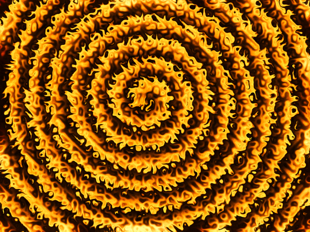 The Fire Spiral by Vincent-JD
