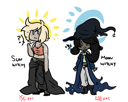 closed - witchy adopts