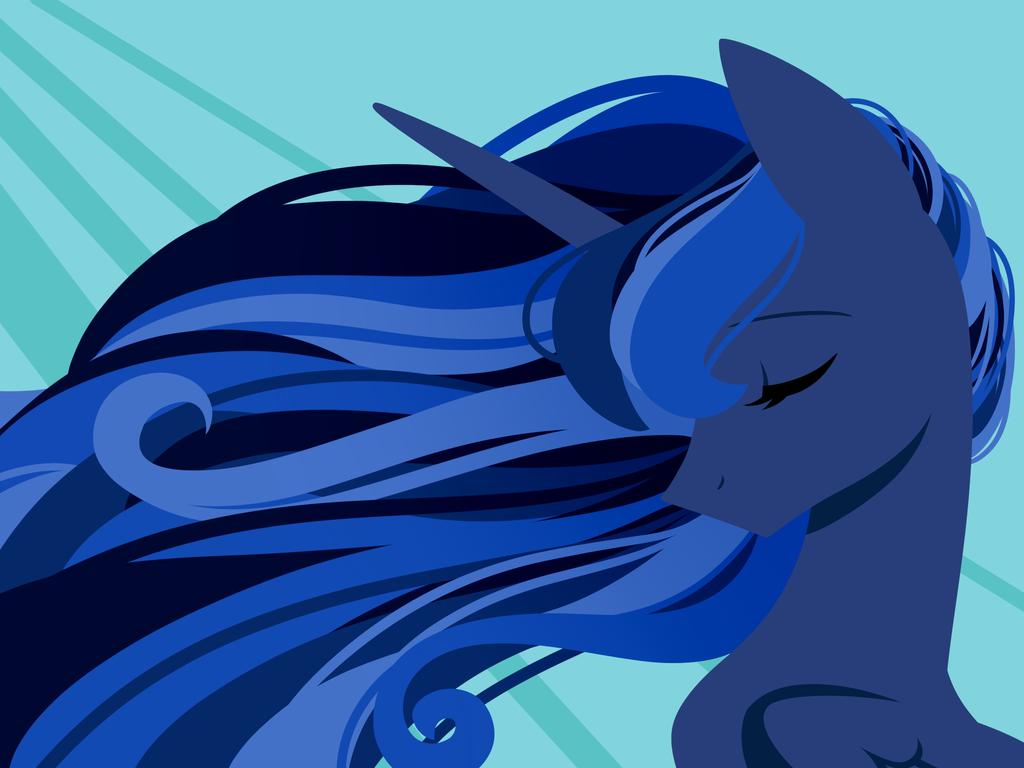 Line less Princess Series: Luna by KMWolf