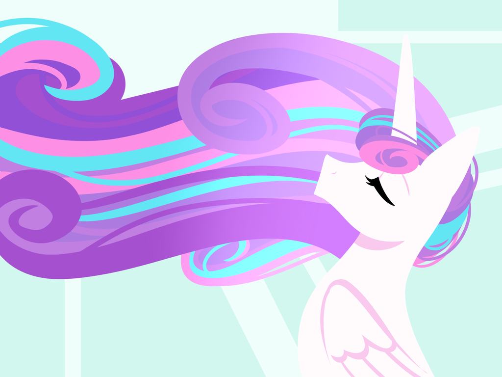 Line Less Princess Series Flurry Heart By Kmwolf On
