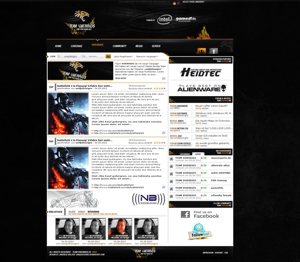 Clandesign - TEAM VIVERRIDS v2 by uniQsDesigns