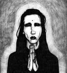 Marilyn Manson II by HanzoHattorii