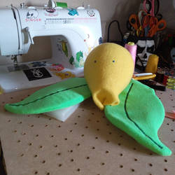Bellsprout puppet WiP