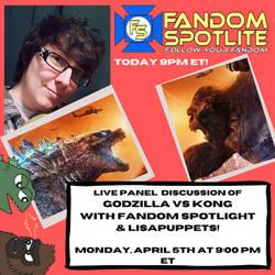 Live Panel Discussion - Godzilla VS Kong