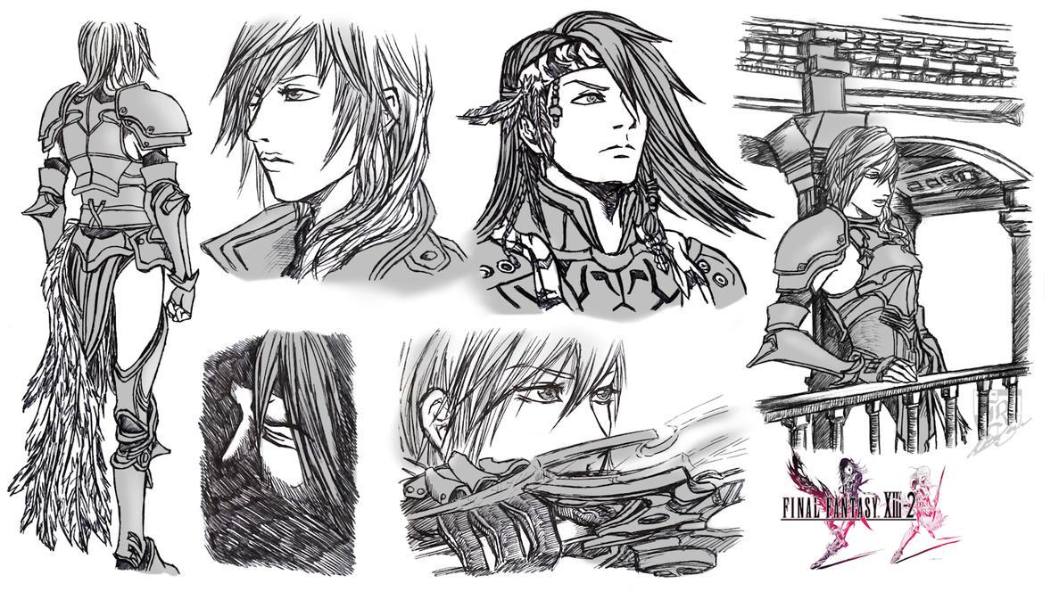 Final Fantasy XIII-2 by Terra7