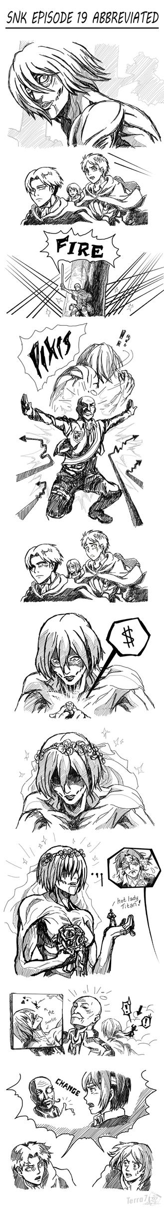 Attack on Titan - Those Who Bring Change by Terra7
