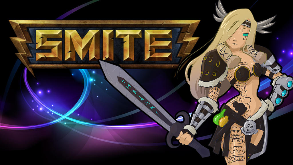 SMITE FREYA FAN ART by edd00chanFreya Smite Wallpaper