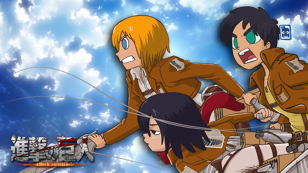 Shingeki no Kyojin Attack On Titan FAN ART by edd00chan on DeviantArt