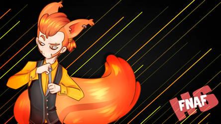 NIGHTMARE FOXY collab con @pamwestrup by edd00chan