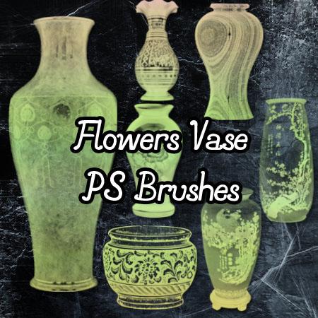 Flower Vase Brushes by petermarge