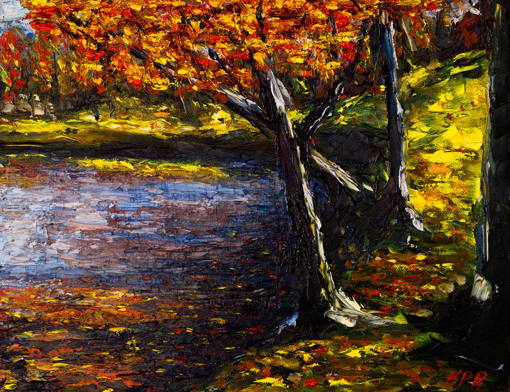 Reflections of a Maple by Kevinrichardfineart