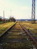 Vltavska Station by Rosebatterr