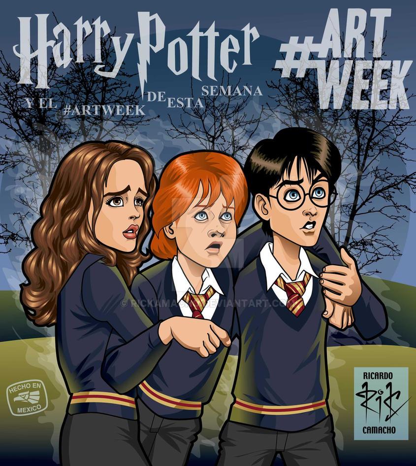 Harry, Hermione y Ron by RicardoCamacho rickamacho by rickamacho