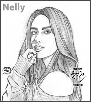 Nelly Burguette pencil Ricardo Camacho -rickamacho
