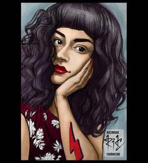 Luciana 02 Color por Ricardo Camacho rickamacho-