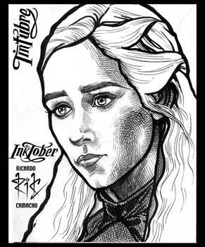 Emilia Clarke Daenerys Ricardo Camacho rickamacho