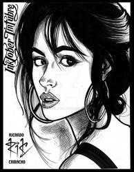 Inktober Camila Cabello 02 por rickamacho
