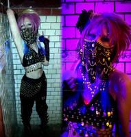 Visual Kei JRock Hair Fashion Cosplay Bellydance