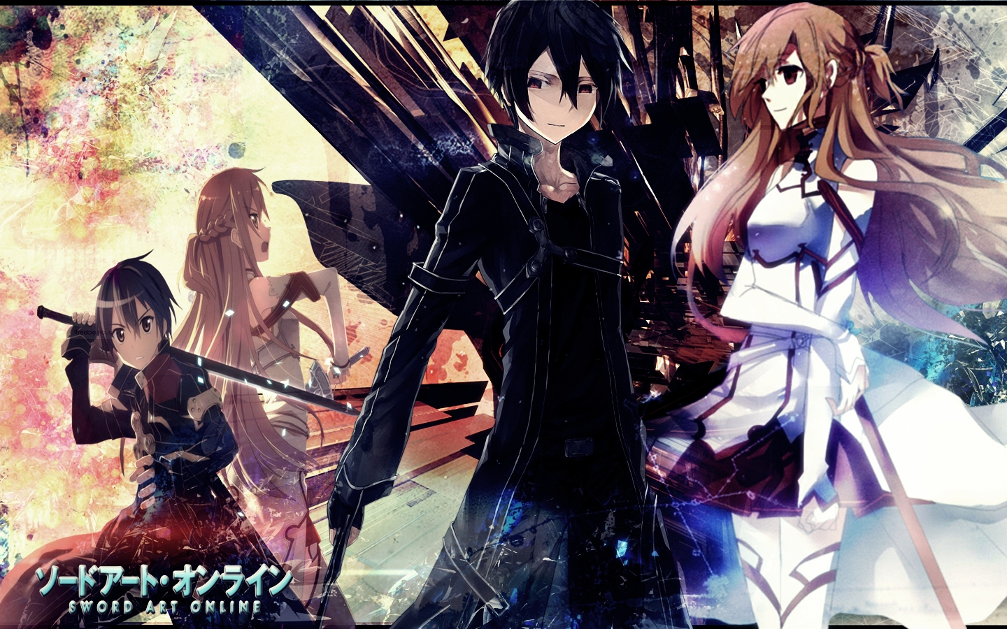 Sword Art Online Wallpaper By Lyuno On Deviantart