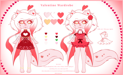 Valentine: 2 new outfits