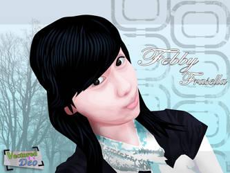 Cute Girl Vector by 91hoshi