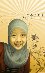 Muslimah Girl vector by 91hoshi