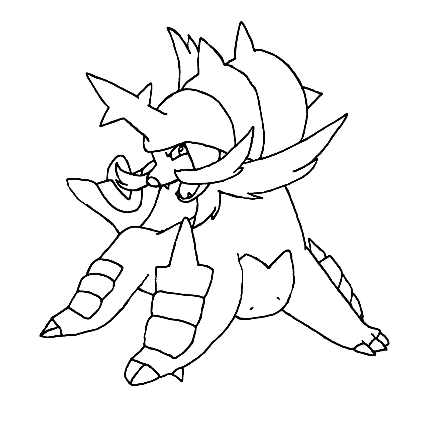 samurott pokemon coloring pages   Samurott by MatthewtheWoodpecker on DeviantArt