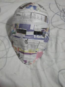 Hichigo Vasto Lorde Mask WIP 1
