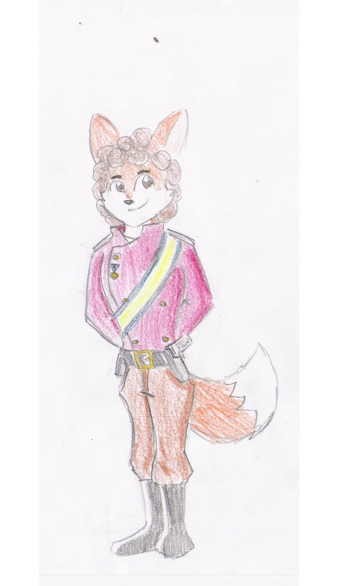 Captain Sive Fox by rzboni