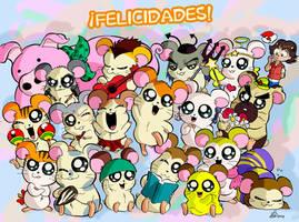 mariods trae los hamsters + queridos por mi cumple by Chistoso-TheJoke