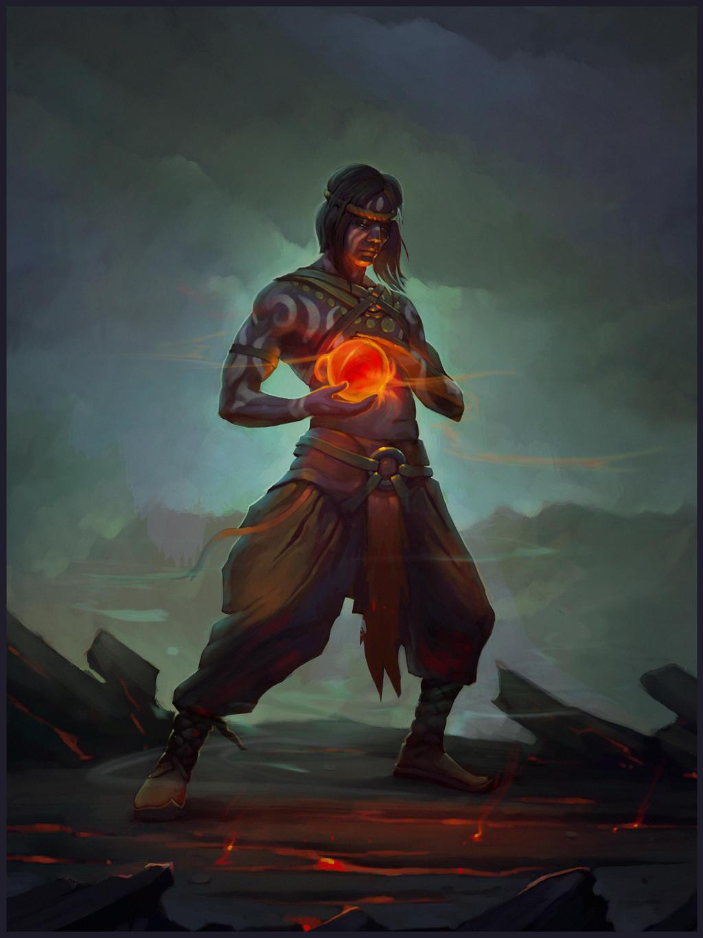 Noob Mage By Joshcorpuz85 Female Druid Witch Sorceress