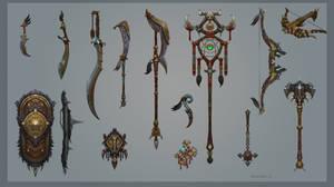 Pridens Weapon
