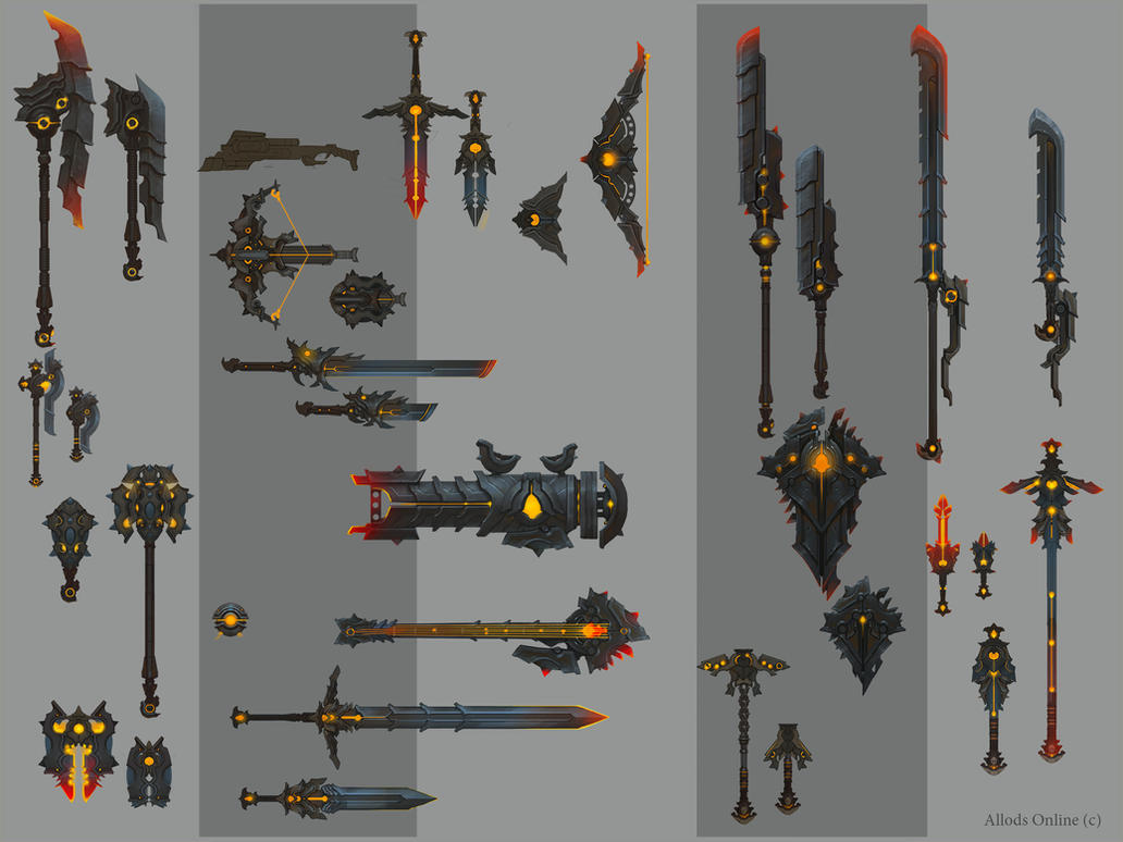 Power weapon by genek