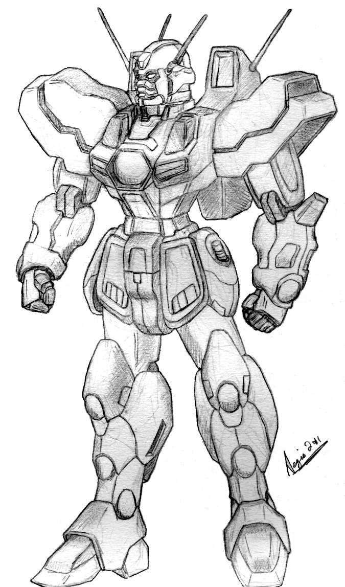 SRGX-000 Gundam by AegisKHAOS