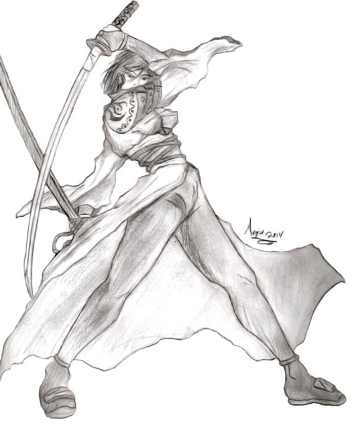 Demon Princess Fuma Kaguya 3A by AegisKHAOS