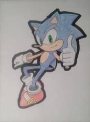 Sonic (arte experimental) by DashKnife-edge
