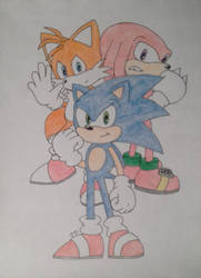 Original Team Sonic by DashKnife-edge