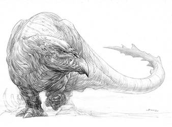 Monster concept by boscopenciller