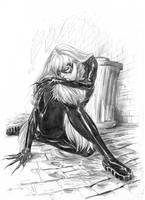 Black Cat by boscopenciller