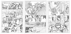 Green Lantern comics portfolio