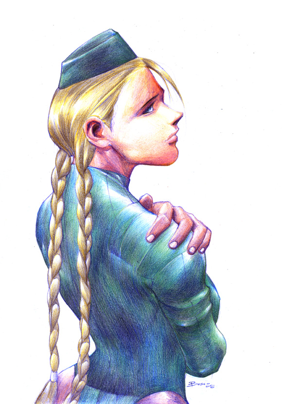 Cammy colored pencils by boscopenciller
