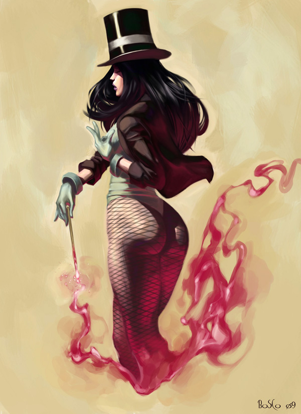 Zatanna colors