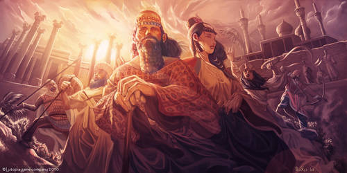 Persian Empire by boscopenciller