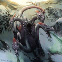 Toxic Hydra by boscopenciller