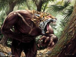 Jaguar Warrior by boscopenciller
